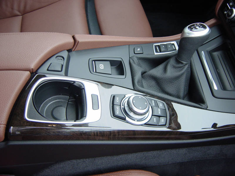 Manual Transmission Console